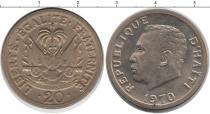 Каталог монет - монета  Гаити 20 гурдес