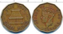 Каталог монет - монета  Фиджи 3 пенса