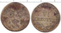 Каталог монет - монета  Швабия 6 крейцеров