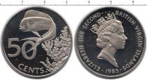 Каталог монет - монета  Виргинские острова 50 центов