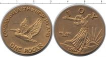 Каталог монет - монета  Океания 1 рожер