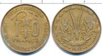 Каталог монет - монета  Того 10 франков