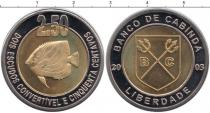 Каталог монет - монета  Кабинда 2 1/2 эскудо