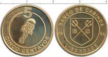 Каталог монет - монета  Кабинда 5 сентаво