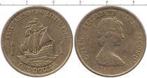 Каталог монет - монета  Карибы 1 доллар