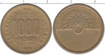 Каталог монет - монета  Колумбия 1000 песо