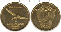 Каталог монет - монета  Острова Кергелен 100 франков