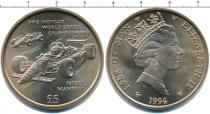Каталог монет - монета  Остров Мэн 5 фунтов