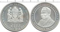Каталог монет - монета  Танзания 200 шиллингов