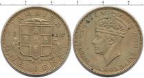 Каталог монет - монета  Ямайка 1 пенни