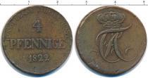 Каталог монет - монета  Анхальт-Бембург 4 пфеннига