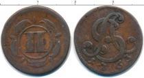 Каталог монет - монета  Липпе-Детмольд 2 пфеннига