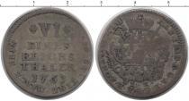 Каталог монет - монета  Мюнстер 1/6 талера