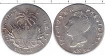 Каталог монет - монета  Гаити 100 сентим