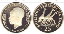 Каталог монет - монета  Танзания 25 шиллингов