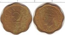 Каталог монет - монета  Цейлон 2 цента