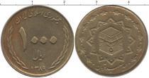 Каталог монет - монета  Иран 1000 риалов