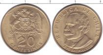 Каталог монет - монета  Чили 20 сентесим