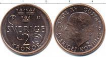 Каталог монет - монета  Швеция 2 кроны