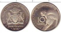 Каталог монет - монета  Гайана 10 центов