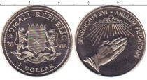 Каталог монет - монета  Сомали 1 доллар
