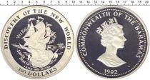 Каталог монет - монета  Багамские острова 100 долларов