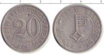 Каталог монет - монета  Бремен 20 пфеннигов