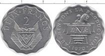 Каталог монет - монета  Бурунди 2 франка