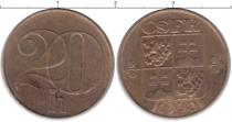 Каталог монет - монета  Чехословакия 20 хеллеров
