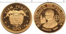Каталог монет - монета  Колумбия 100 песо