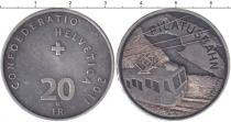 Каталог монет - монета  Швейцария 20 франков