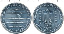 Каталог монет - монета  ФРГ 20 евро