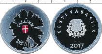 Каталог монет - монета  Эстония 1 евро