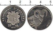 Каталог монет - монета  Андорра 25 сентим