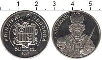 Каталог монет - монета  Андорра 50 центов