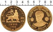 Каталог монет - монета  Эфиопия 100 долларов