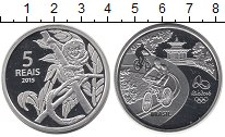 Каталог монет - монета  Бразилия 5 реалов