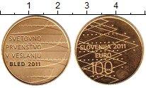 Каталог монет - монета  Словения 100 евро