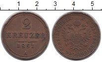 Каталог монет - монета  Австро-Венгрия 2 крейцера