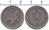 Каталог монет - монета  Литва 1 лит