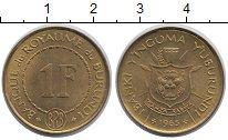Каталог монет - монета  Конго 1 франк