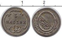Каталог монет - монета  Цюрих 3 геллера