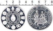 Каталог монет - монета  Аргентина 25 песо