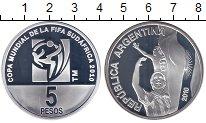 Каталог монет - монета  Аргентина 5 песо