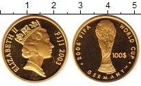 Каталог монет - монета  Фиджи 100 долларов