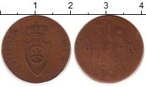 Каталог монет - монета  Рейнская конфедерация 1 хеллер