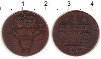 Каталог монет - монета  Шаумбург-Гессен 1 пфенниг