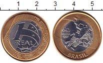 Каталог монет - монета  Бразилия 1 реал