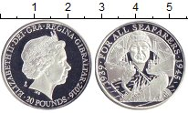 Каталог монет - монета  Гибралтар 20 фунтов
