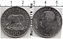 Продать Монеты Танзания 100 шиллингов 1986 Медно-никель